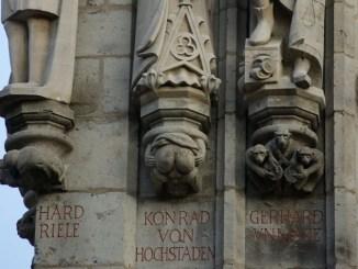 Der Arsch vom Rathausturm