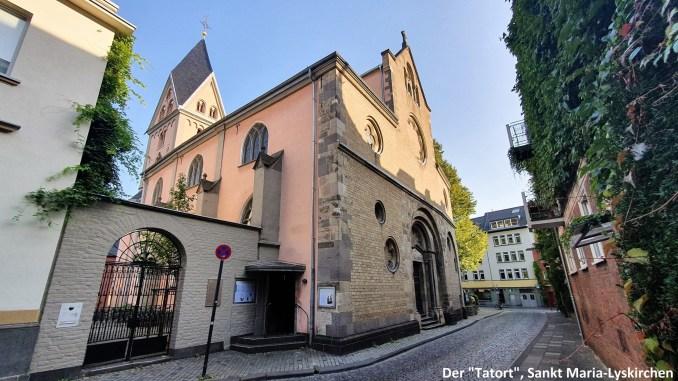 """Der """"Tatort"""" St. Maria Lyskirchen"""