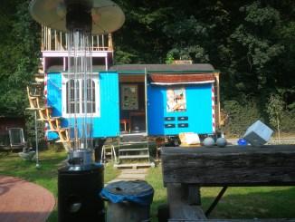 Trailerpark in Kürten Kunstwagen