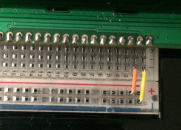 LCD Connections 1 And 2
