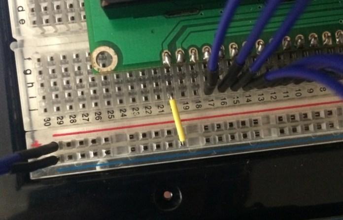 LCD Pin 20