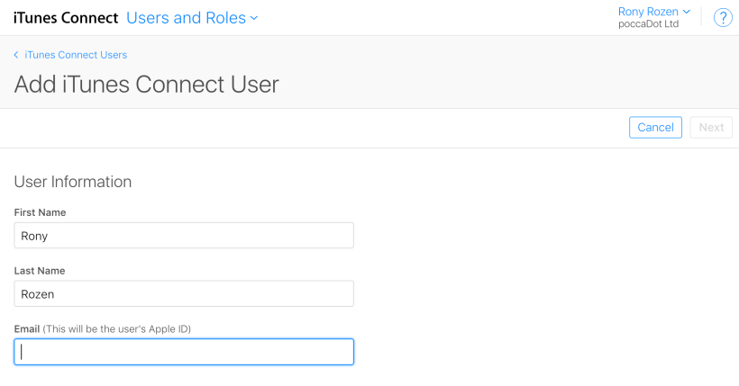 Note If The Email Address Entered Is Not Associated With An Apple Id Your Tester Will Have To Create Accept Invitation
