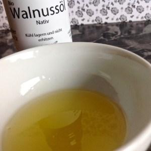 Bio Walnussöl von der Ölmühle Sailer