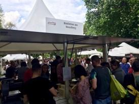Der Stand von Köstliches aus Vorarlberg am Genussfestival 2017 im Stadtpark in Wien