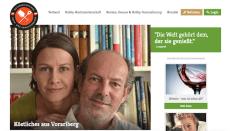 Screenshot des Beitragsfotos von Susanne & Hardy Lohs auf der Website oekgv.at