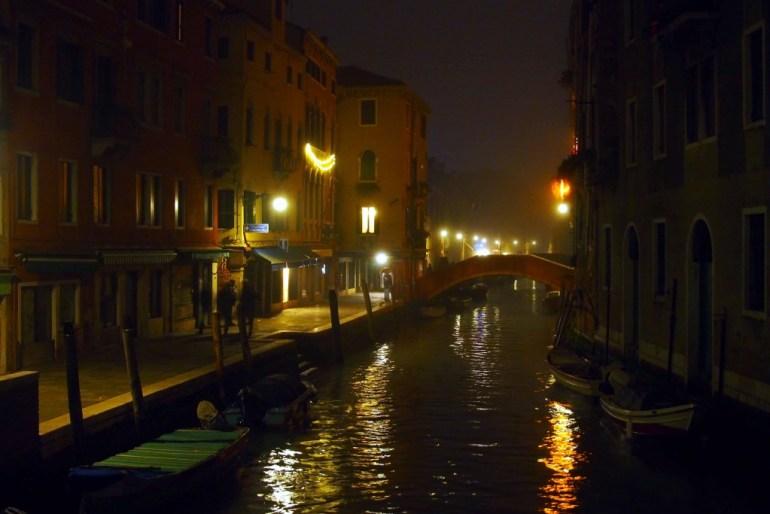 Nächtliches Venedig