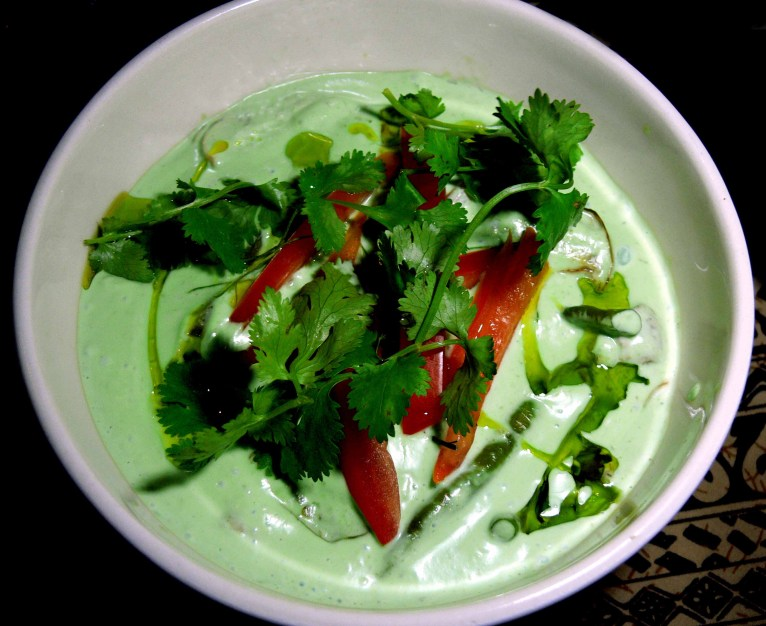 Thai Style Green Fish Curry
