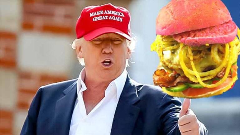 Das Käppie von Donald Trump