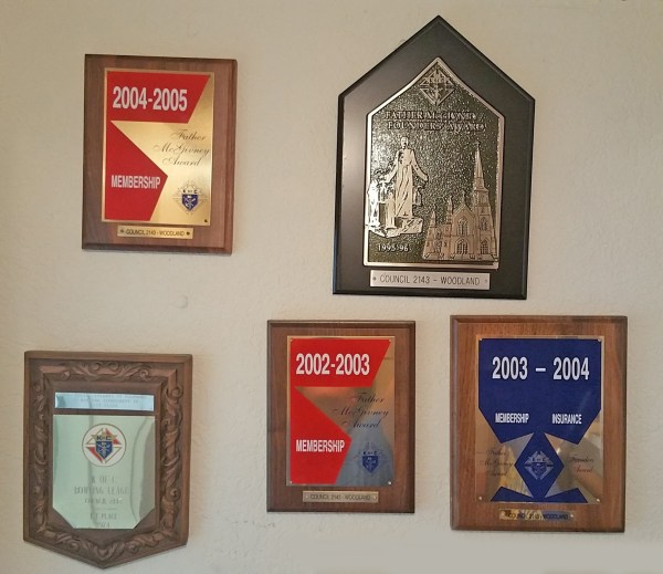 Council Awards from 1974 - 2005