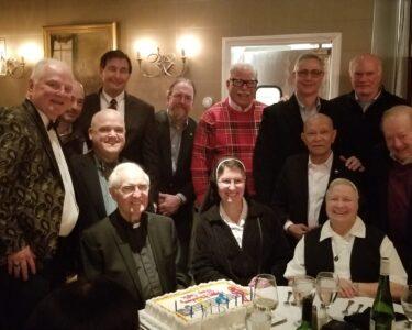Holiday Dinner ---Monsignor Capik Birthday