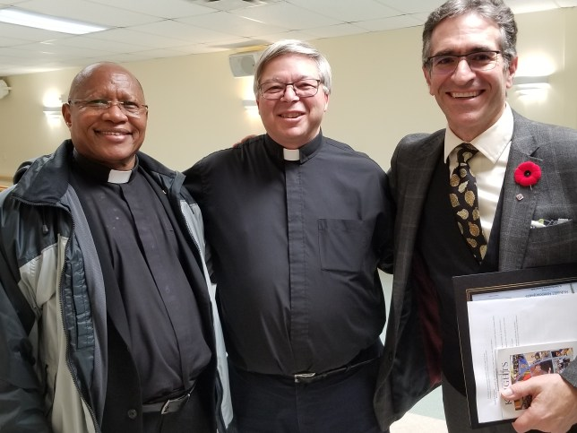 Father Paul Mawalla, Father Sebastian Amato & Luigi Battel