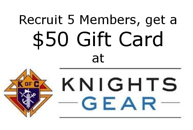 Share Your Knights of Columbus Pride & Win a $50 Gift Card