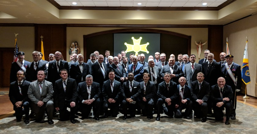 45 Knights join the Fourth Degree