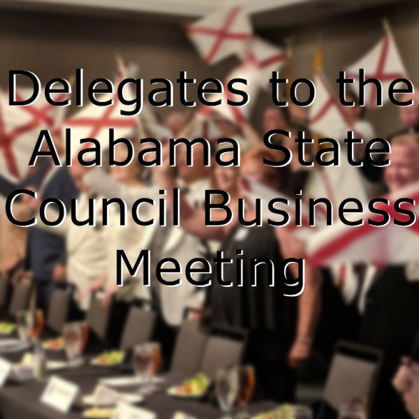 Delegate Form for the 2021 State Convention