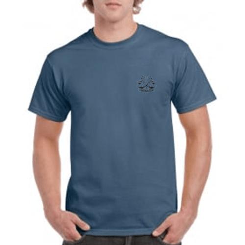 Carlton Leach Indigo Blue T-Shirt