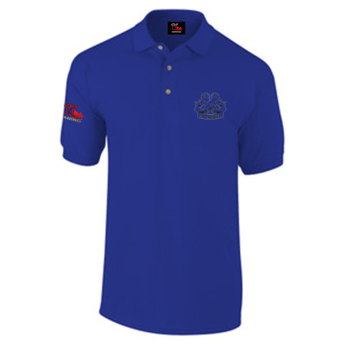 Carlton Leach Polo Shirt Royal Blue