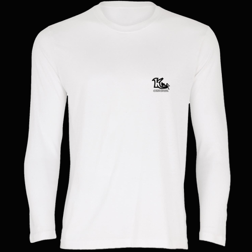 KOfficial White Long Sleeve T-Shirt