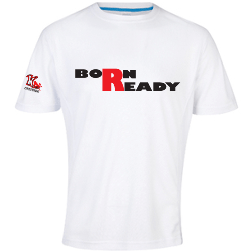 KOfficial Born Ready Performance T-Shirt white