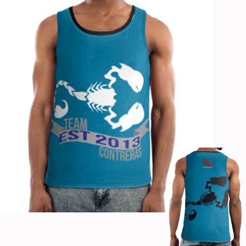 Team Contreras Blue Sports Vest