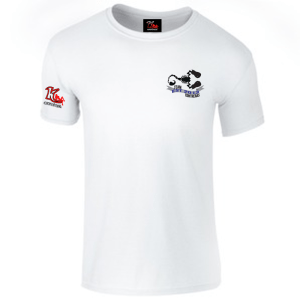 Team Contreras White t-shirt left chest