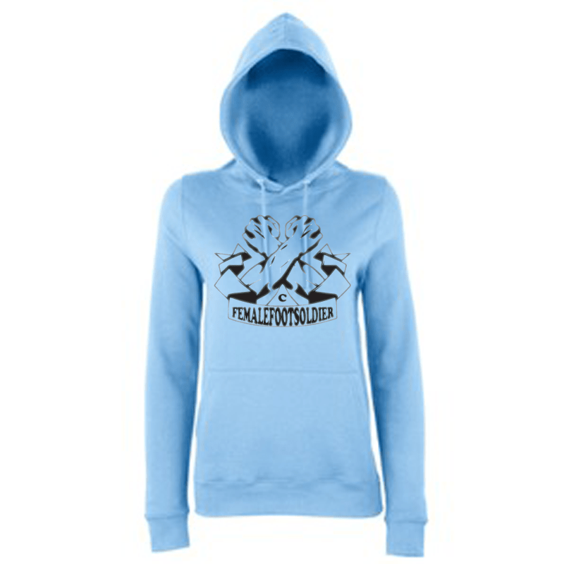 Carlton Leach Collection Female Footsoldier Hoodie
