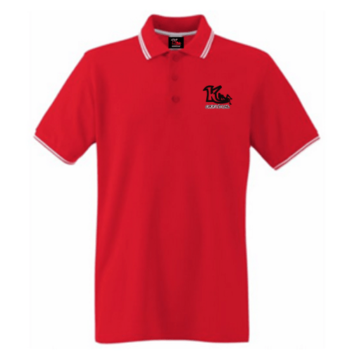KOfficial Tipped Pique Polo Shirt