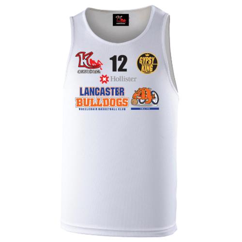 Lancaster Bulldogs Away Vest