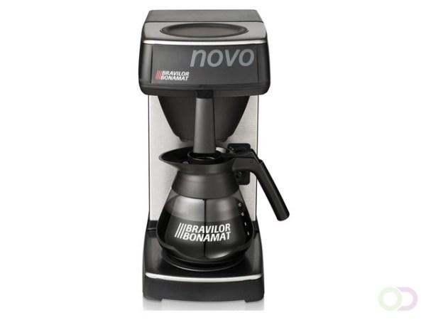 Bravilor Novo Koffiezetapparaat inclusief glazen kan