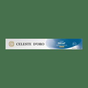 Celeste d'Oro - Nespresso compatible - Finest Decaf