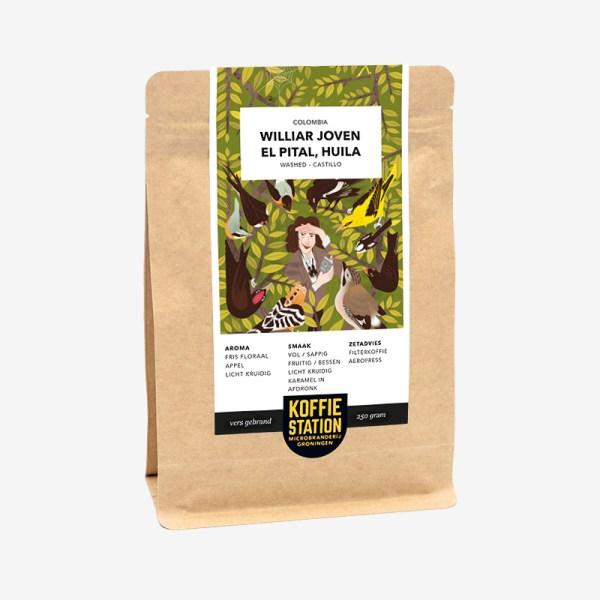 Colombia Williar Joven koffie