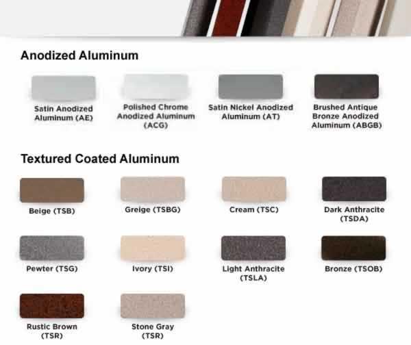 Schluter® Quadec Aluminum Wall  Countertop Edging