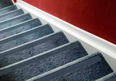 carpet stair no slip nosing