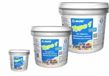 mapei type 1 professional tile adhesive