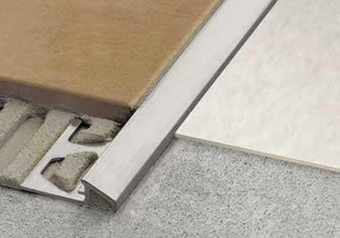 schluter reno u tile floor edging profile