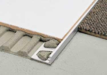 metal tile edging and trim