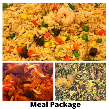 African Food - Family and SoloMeal Package