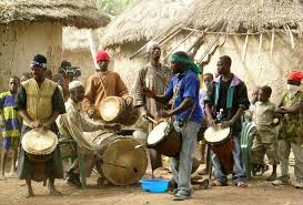 African Music Traditional Band Performance