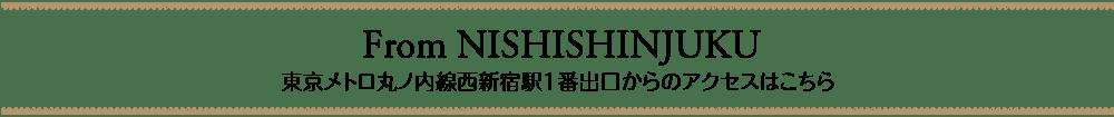 kogao-shinjuku.com【東京・新宿・小顔矯正・骨盤矯正】_東京メトロ丸ノ内線西新宿駅1番出口からのアクセスはこちら