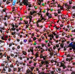 image of the heads of people crowded together