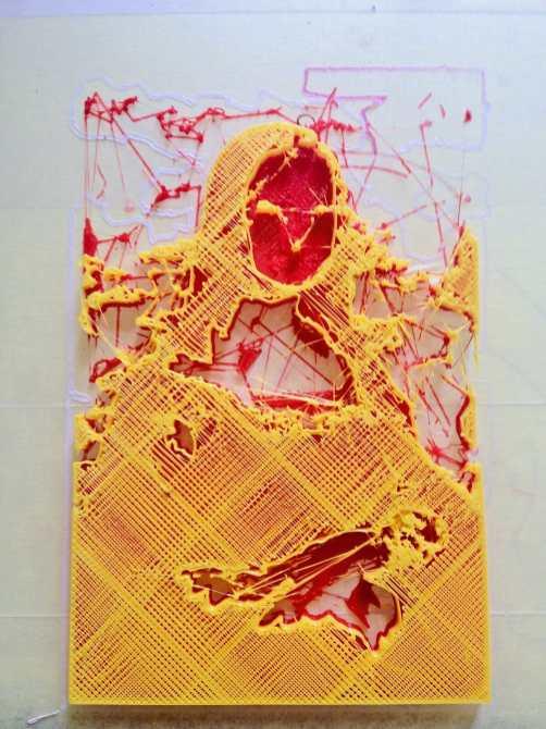 Marcin Góralski - Art Projekt 3d-print Mona Lisa - Art Projekt 3d-print