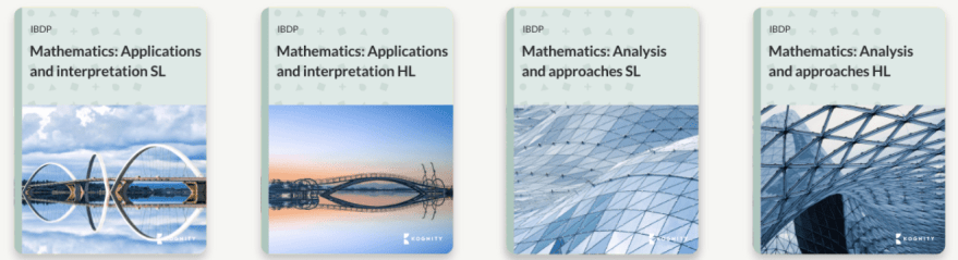 New book covers for Mathematics