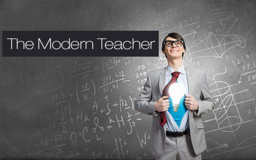 The modern teacher photo