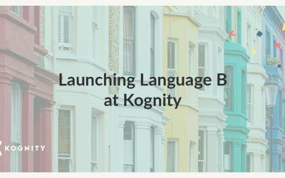 Launching Language B at Kognity