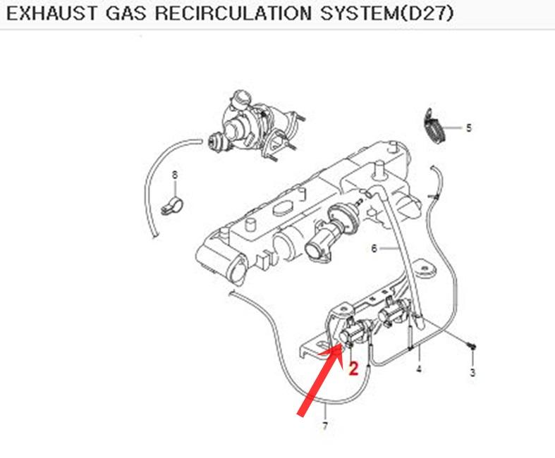 Genuine Vacuum Modulator 655403497 Ssangyong STAVIC ACTYON