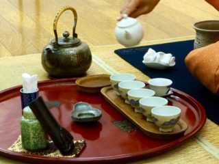 tea ceremonyも色々