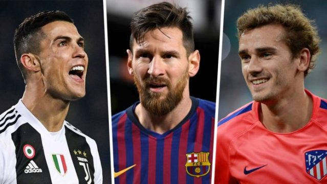 10 më të paguarit në Europë, Messi merr sa dyfishi i Ronaldos