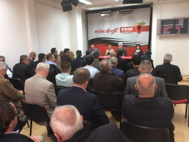 Nesër mbahet Kuvendi i Degës së PDSH-së në Tetovë