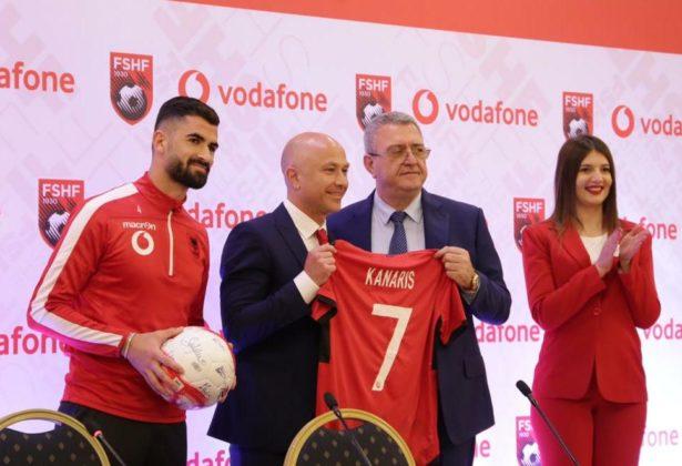Vodafone Albania, bëhet sponsor zyrtar i skuadrës kombëtare të futbollit