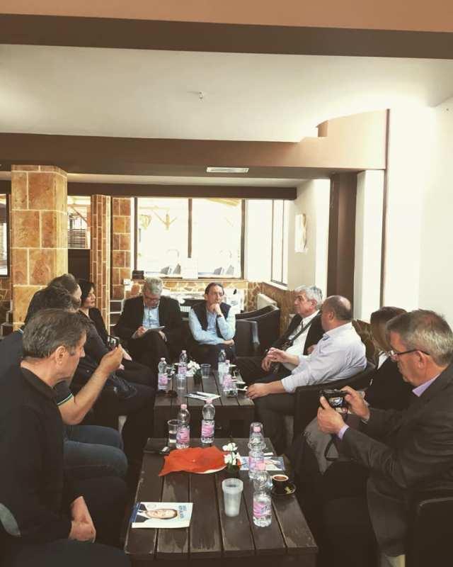 Kandidati për President Blerim Reka takoi një delegacion të minoritetit boshnjak në Republikën e Maqedonisë së Veriut
