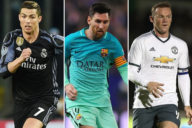 """Rooney: Cristiano është një"""" vrasës """", Messi po ju mundon dhe  më pas  po ju vret"""
